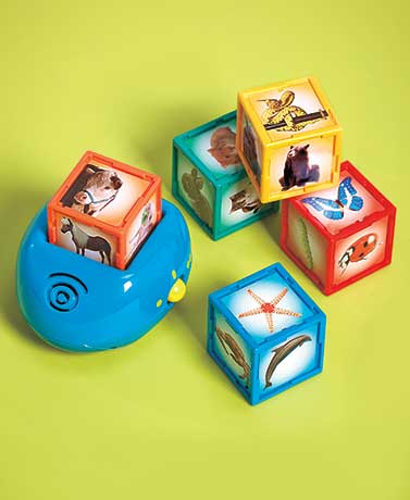 Smithsonian Kids Interactive Animal Cubes
