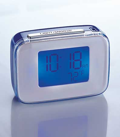 Travel Smart™ by Conair Voice Interactive Alarm Clock