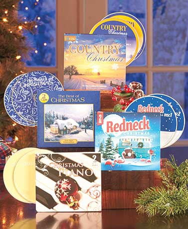 Sets of 2 Holiday Music CDs