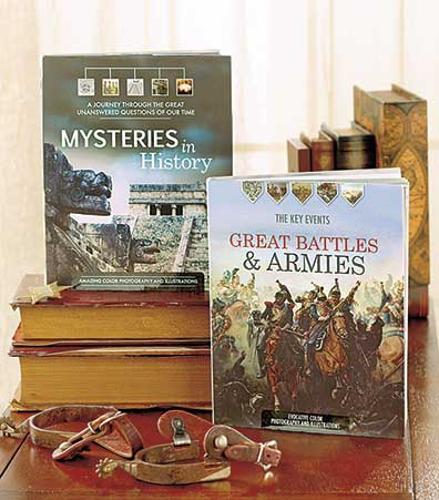 Fact-Filled History Gift Books
