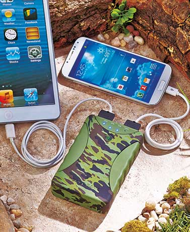 Weatherproof Dual-Port Power Bank
