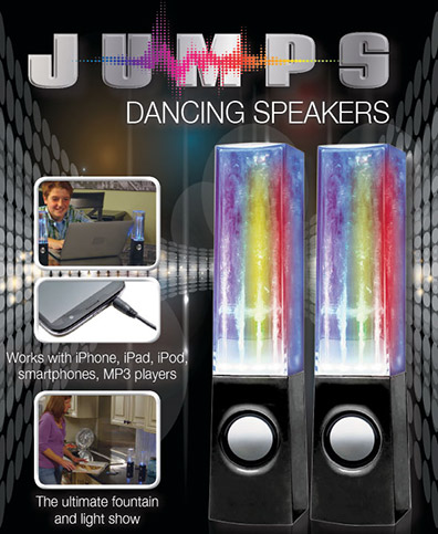 Jump Beat Water Speakers