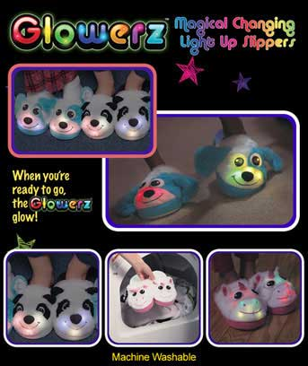 Glowerz? Color Changing Slippers