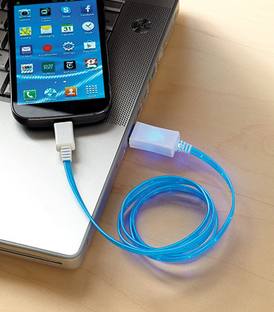 Micro USB Light-Up Sync & Charge Cables