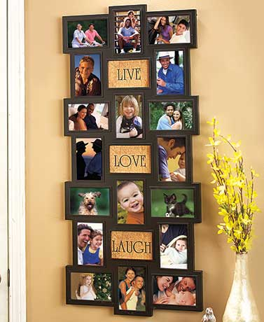 Collage Frame with Sentiment Inserts