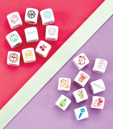 Licensed Puzzle Tins or Storytelling Dice