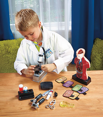 Lighted Working Body Science Set