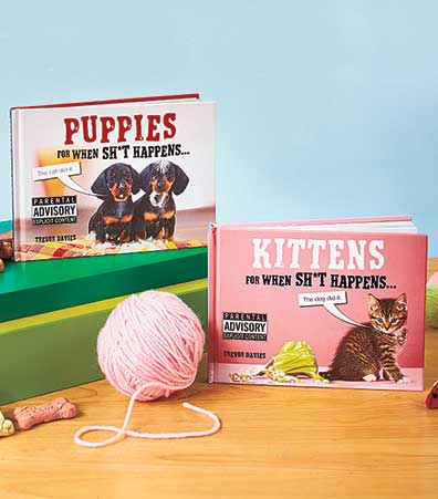 Humorous Puppies or Kittens Books