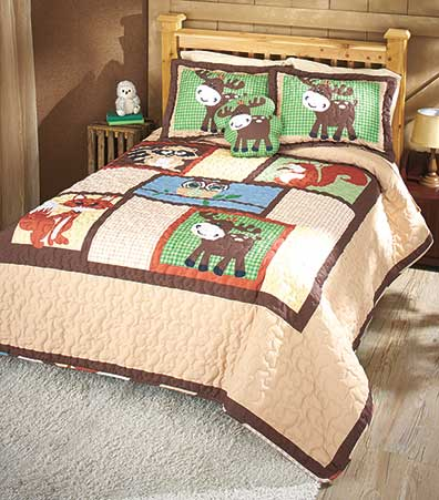 Little Critters Quilted Bed Ensemble
