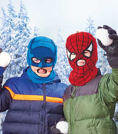 Kid's Licensed Cold Weather Masks