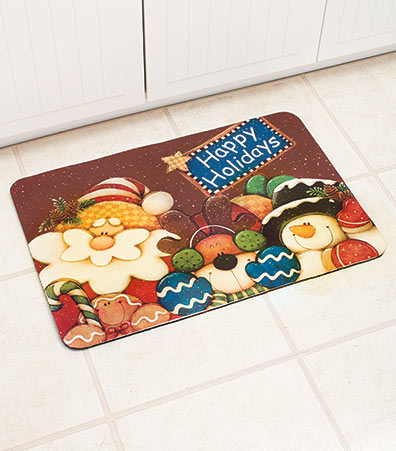 Happy Holidays Magnet or Rug