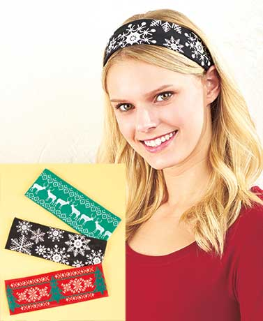 Sets of 3 Holiday Head Wraps