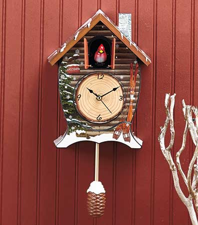 Cuckoo Clocks with Light-Activated Sound