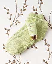 Cozy Sock and Lotion Gift-Boxed Sets - Coconut Lime