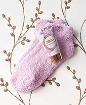 Cozy Sock and Lotion Gift-Boxed Sets - French Lavender