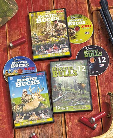 Realtree� Monster Bucks or Bulls DVDs