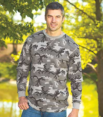 Men's Thermal Camouflage Shirts
