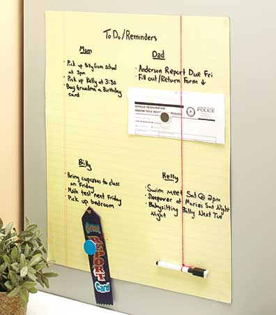Large Magnetic Dry Erase Boards