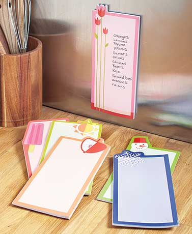 Seasonal Sticky Notes or List Pads