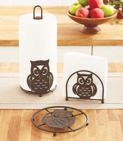 Bronze Owl Kitchen Collection
