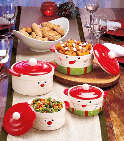 Holiday Cook and Serve Sets