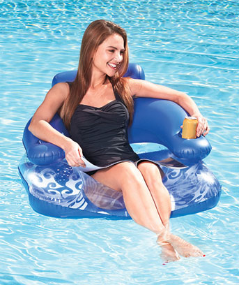 Lazy Lounger Pool Float