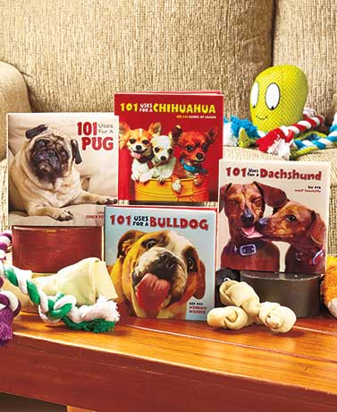 101 Uses Dog Breed Gift Books