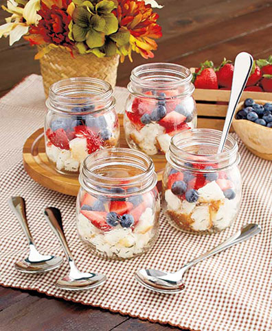 8-Pc. Country Glassware Dessert Sets