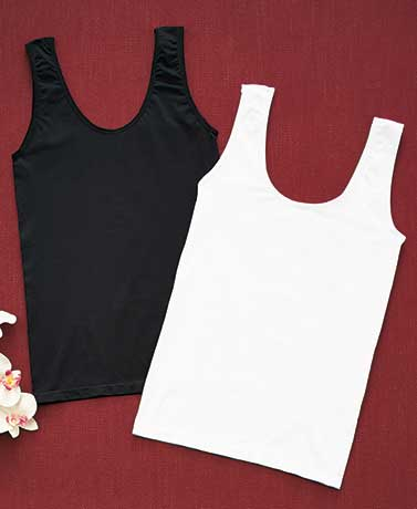 Set of 2 Seamless Layering Camisoles