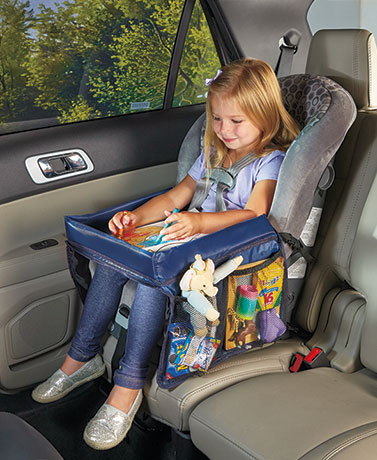 On-the-Go Car Seat Tray