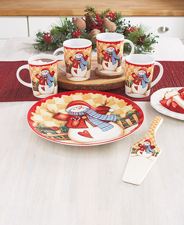 Holiday Mug or Server Sets