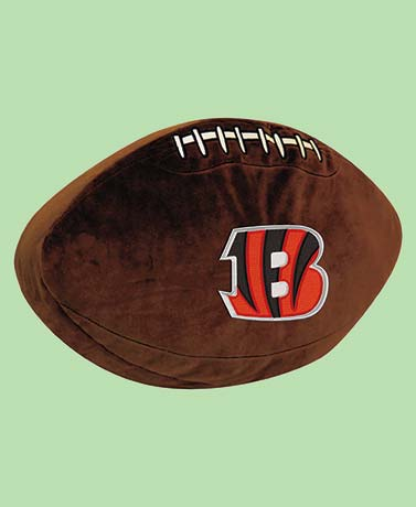 NFL Team Football Pillow