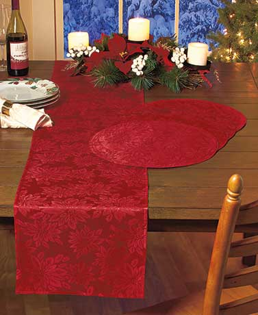 Jacquard Holiday Table Accents