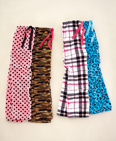 Women's and Plus-Size Sets of 2 Plush Pants