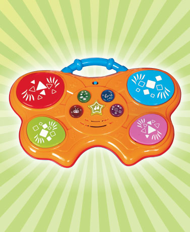 Musical Light & Sound Baby Drum Pad