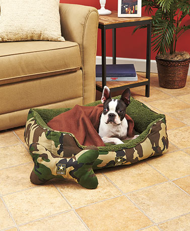 US Army 3-Pc. Pet Bed Sets