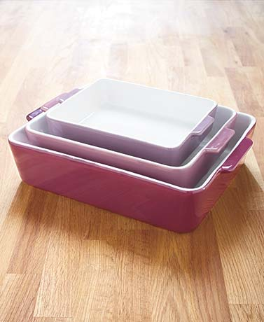 Sets of 3 Baking Dishes
