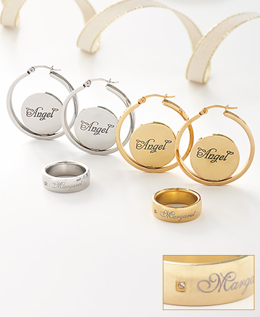 Personalized Jewelry Collection