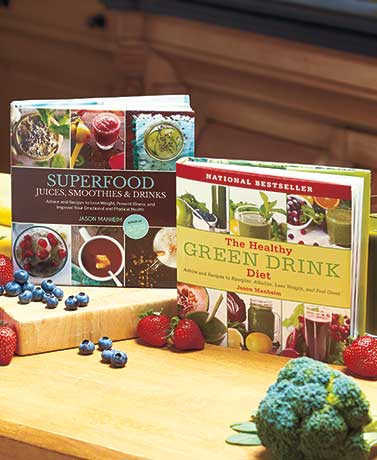 Green or Superfood Drink Cookbooks