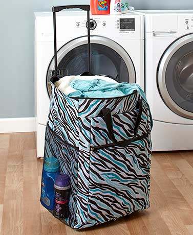 Rolling Laundry Bags