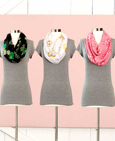 Set of 3 Holiday Scarves