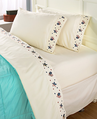 Themed Embroidered Sheet Sets