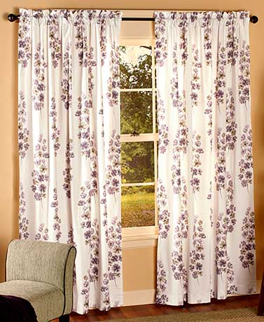 Chelsea Floral Window Curtains