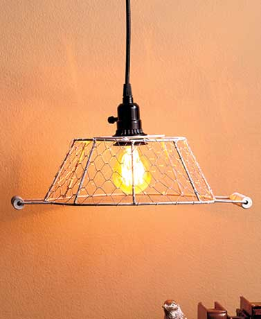 Metal Caged Pendant Lamps
