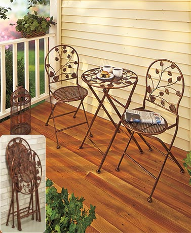 Outdoor Folding Cafe Table or Chair