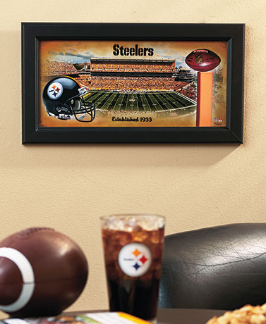 NFL Stadium Framed Commemorative Art