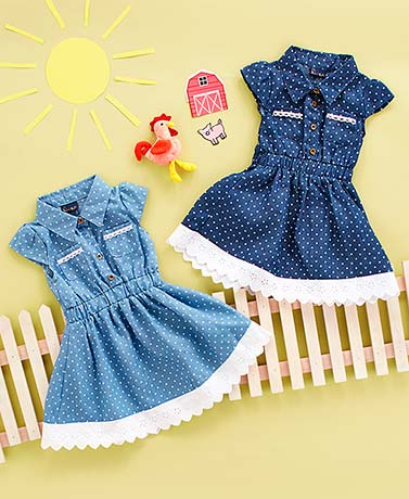 Baby Chambray Dresses