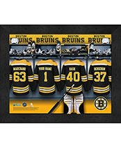 Personalized NHL Locker Room Prints