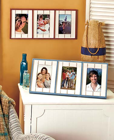 Beadboard Collage Frames