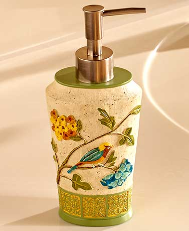 Antique Aviary Bathroom Collection